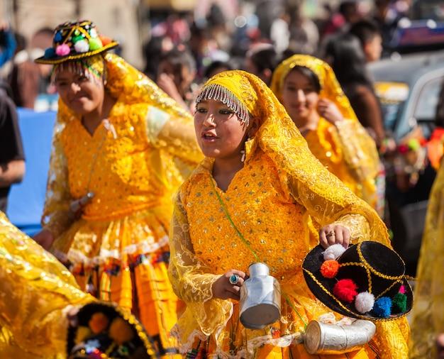 La paz carnival Premium Photo
