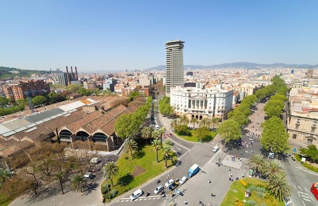 La rambla. barcelona, spain Free Photo