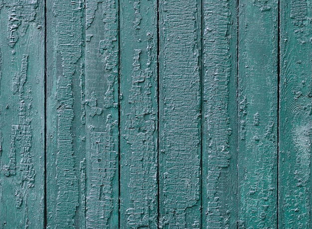 Lacquered wooden texture with blue paint Free Photo