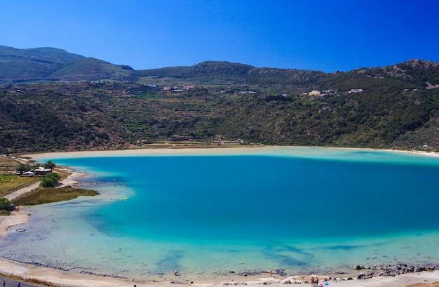 Lago di venere, pantelleria Premium Photo