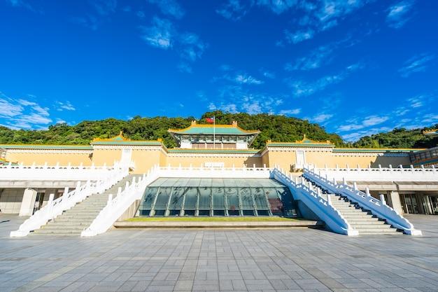 Landmark of taipei national palace museum in taiwan Free Photo