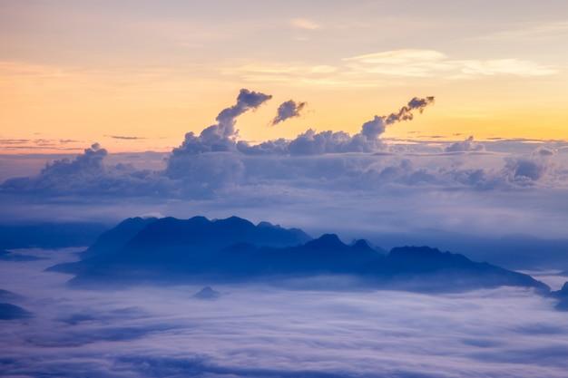 Landscape at doi luang chiang dao Premium Photo