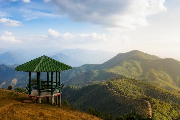 Landscape of doi pui co. Premium Photo
