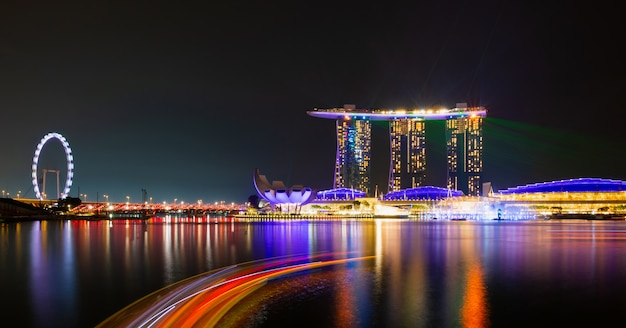 シンガポール市の風景 Premium写真