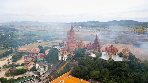 Landscape of wat tham suea Premium Photo