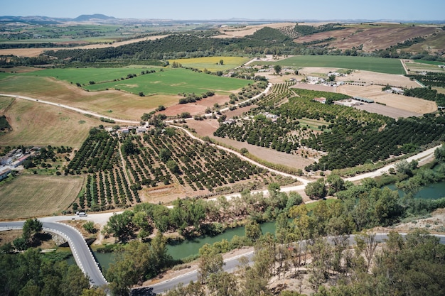 Landscapes of andalusia, spain Premium Photo