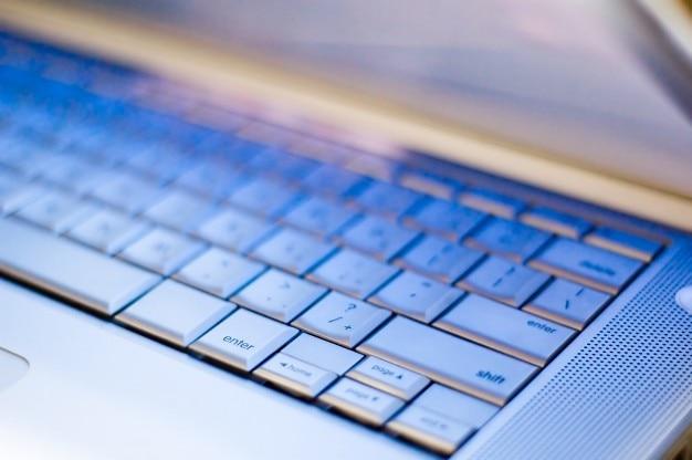 Laptop keyboard detail Free Photo