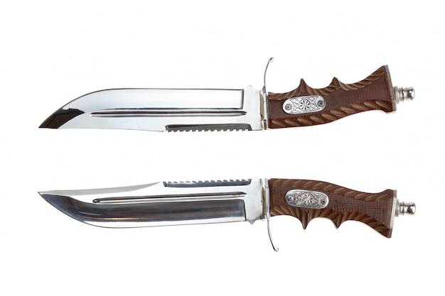Large knife bandit Premium Photo