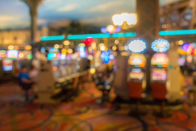 Las vegas casino background Premium Photo