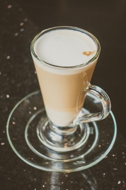 Latte coffee Free Photo