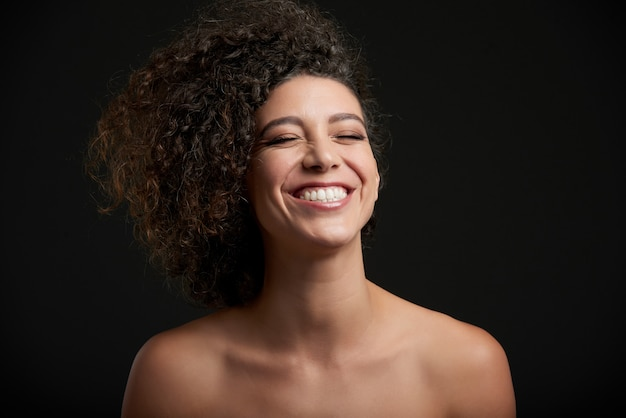 Laughing woman Free Photo