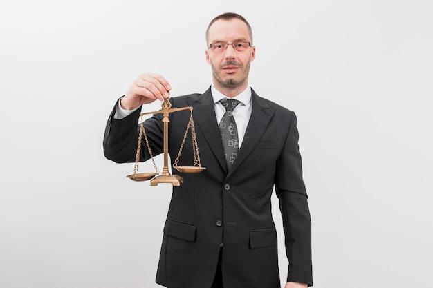 Адвокат с весовыми шкалами Бесплатные Фотографии