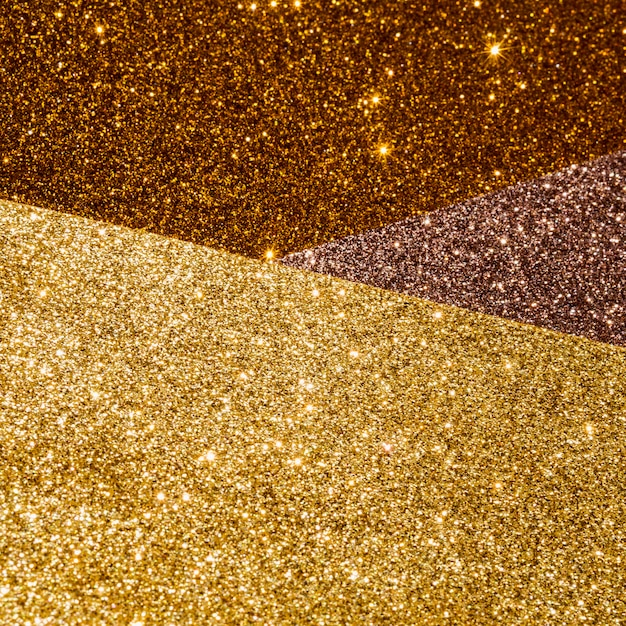 Layers of gradient gold texture Free Photo