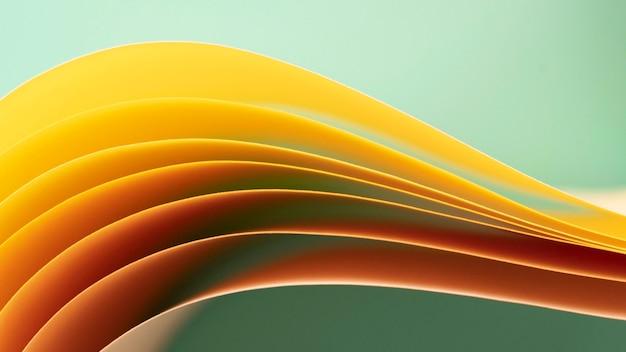노란색 색종이 레이어 무료 사진
