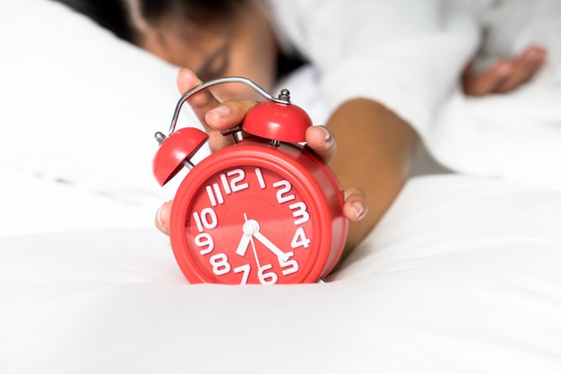 Lazy wake up in morning. Free Photo