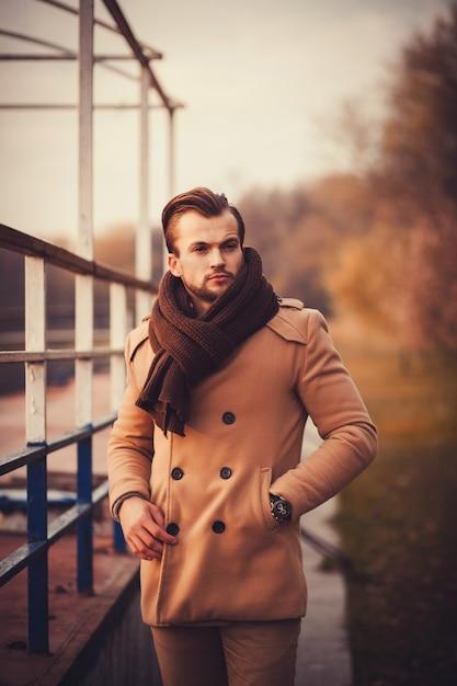 Legant fashionable man Premium Photo