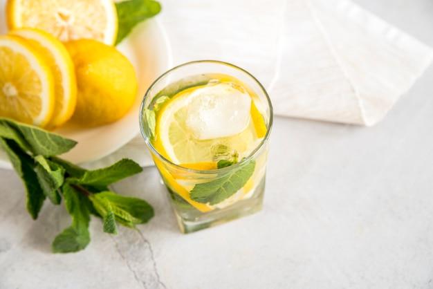 Lemonade still life for summer Free Photo