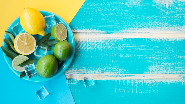 Lemons and limes Free Photo