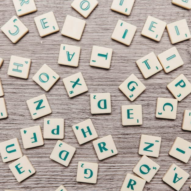 Letter game Free Photo