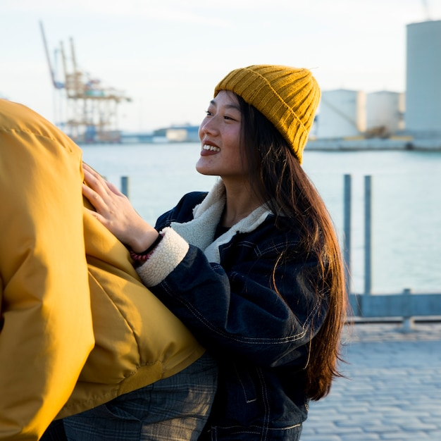 Lifestyle of young couple Free Photo