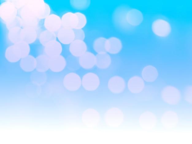 Light blue bokeh background Premium Photo