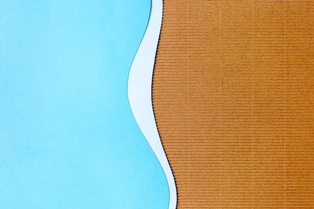 Голубая бумага в форме фона дизайн Бесплатные Фотографии
