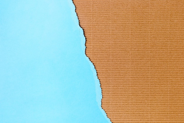 Голубая бумага в форме фона в стиле Premium Фотографии