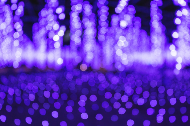 Light bokeh background Premium Photo