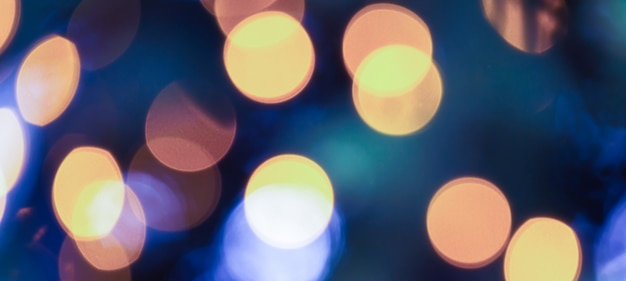 Light bokeh background Premium Photo