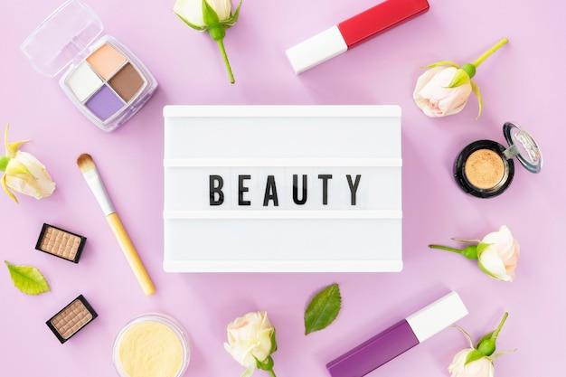 化粧品のライトボックス 無料写真