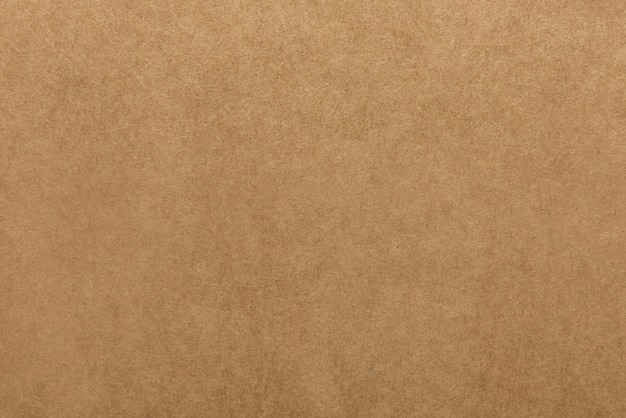 Light brown kraft paper texture for background Premium Photo