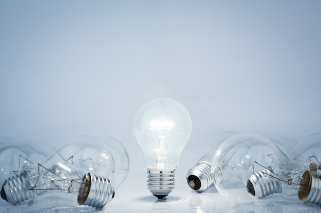 Light bulb lamps Free Photo