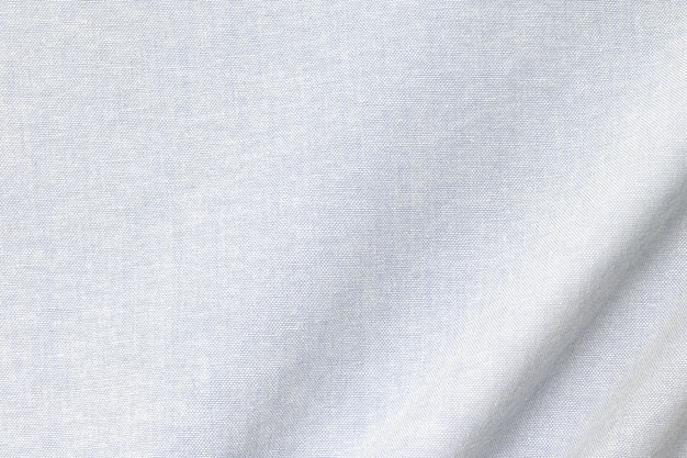 Light cotton texture background. detail of fabric textile surface. Premium Photo