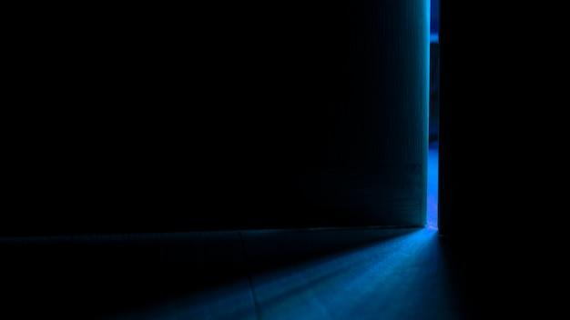 Light from an open door Free Photo
