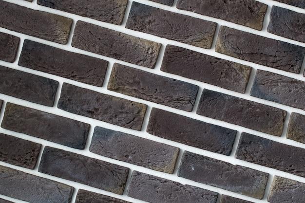 Muro di mattoni grigio chiaro, primo piano creativo back-phonon Foto Gratuite
