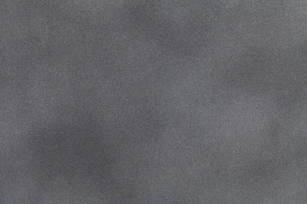 Light gray suede fabric closeup. velvet texture. Premium Photo