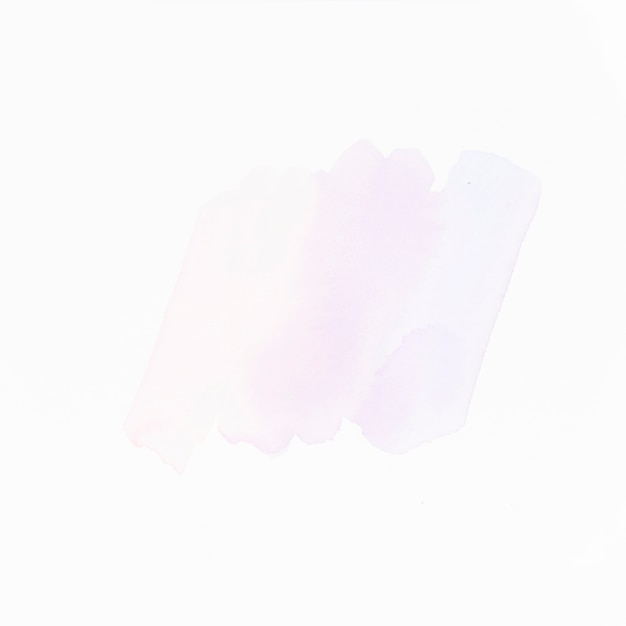 Light liquid color strokes isolated on white surface Free Photo