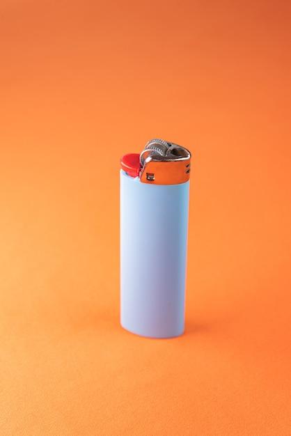 오렌지 라이터 무료 사진
