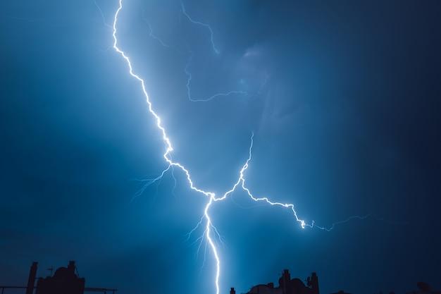 Lightning. Premium Photo