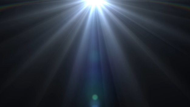 Lights flares background glow light bright Premium Photo
