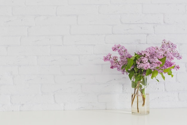 Lilac In Vase Photo Free Download