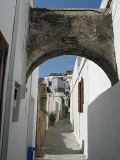Lindos, greece Free Photo