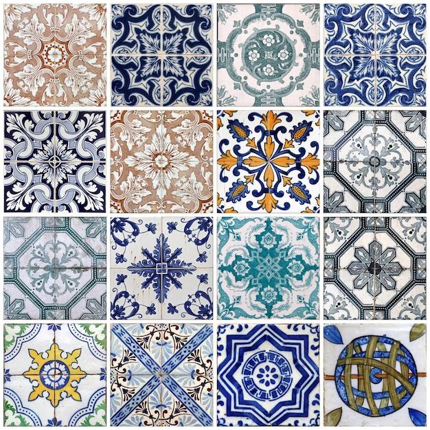 Lisbon tiles Premium Photo