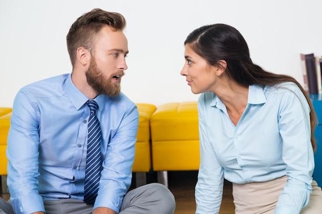 Listening communication startup businessman colleague 1262 1232
