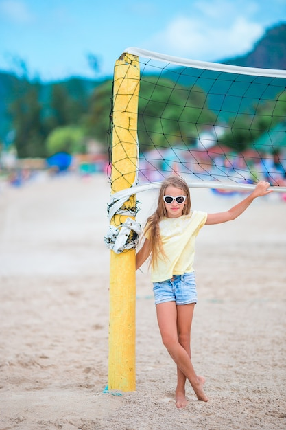Girls learn volleyball skills, gain self-esteem at