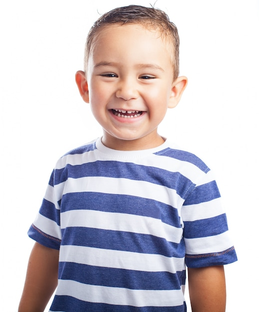 Little Boy Laughing Photo Free Download