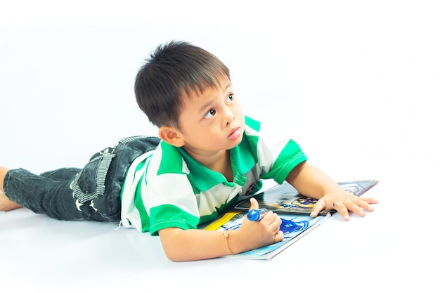 Little boy Premium Photo