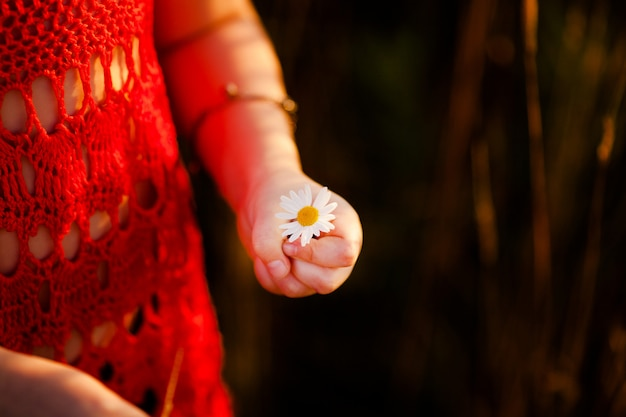 Little girl fingers Premium Photo