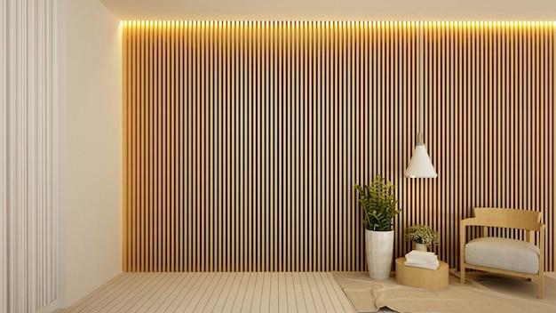 Living area in hotel Premium Photo