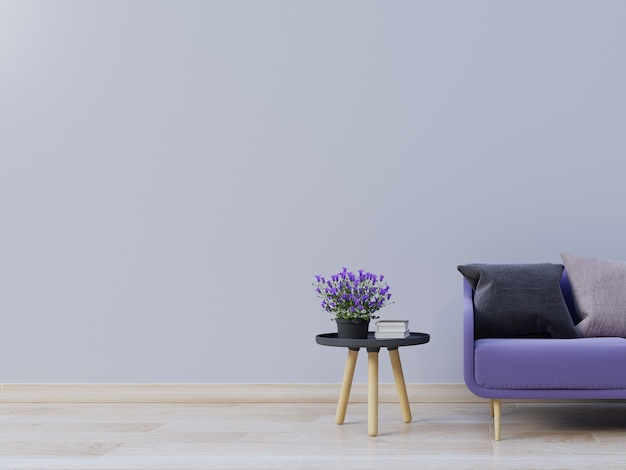 purple living room decoration ideas